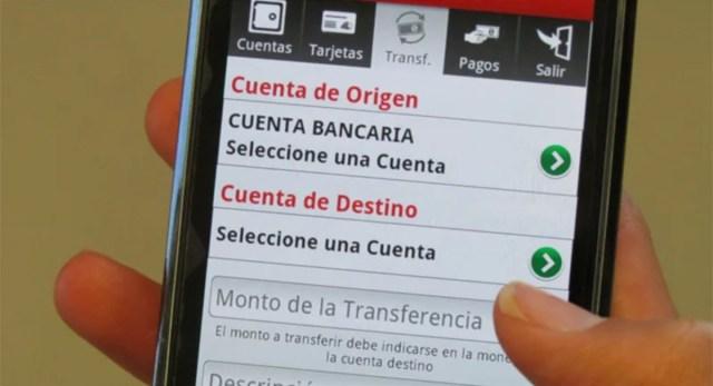 Riesgos de tener una app bancaria en el celular