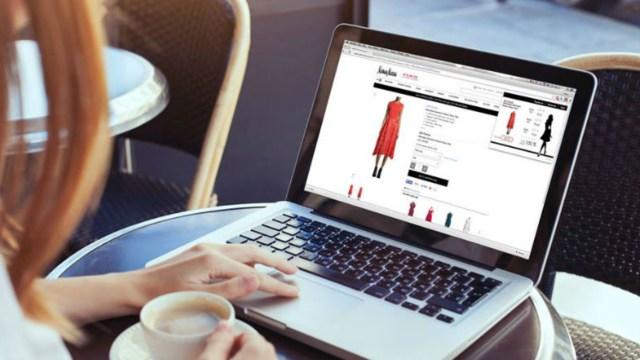 29 noviembre 2019, tiendas comprar ropa linea barata, tienda en linea, computadora, mujer, compras online, ropa