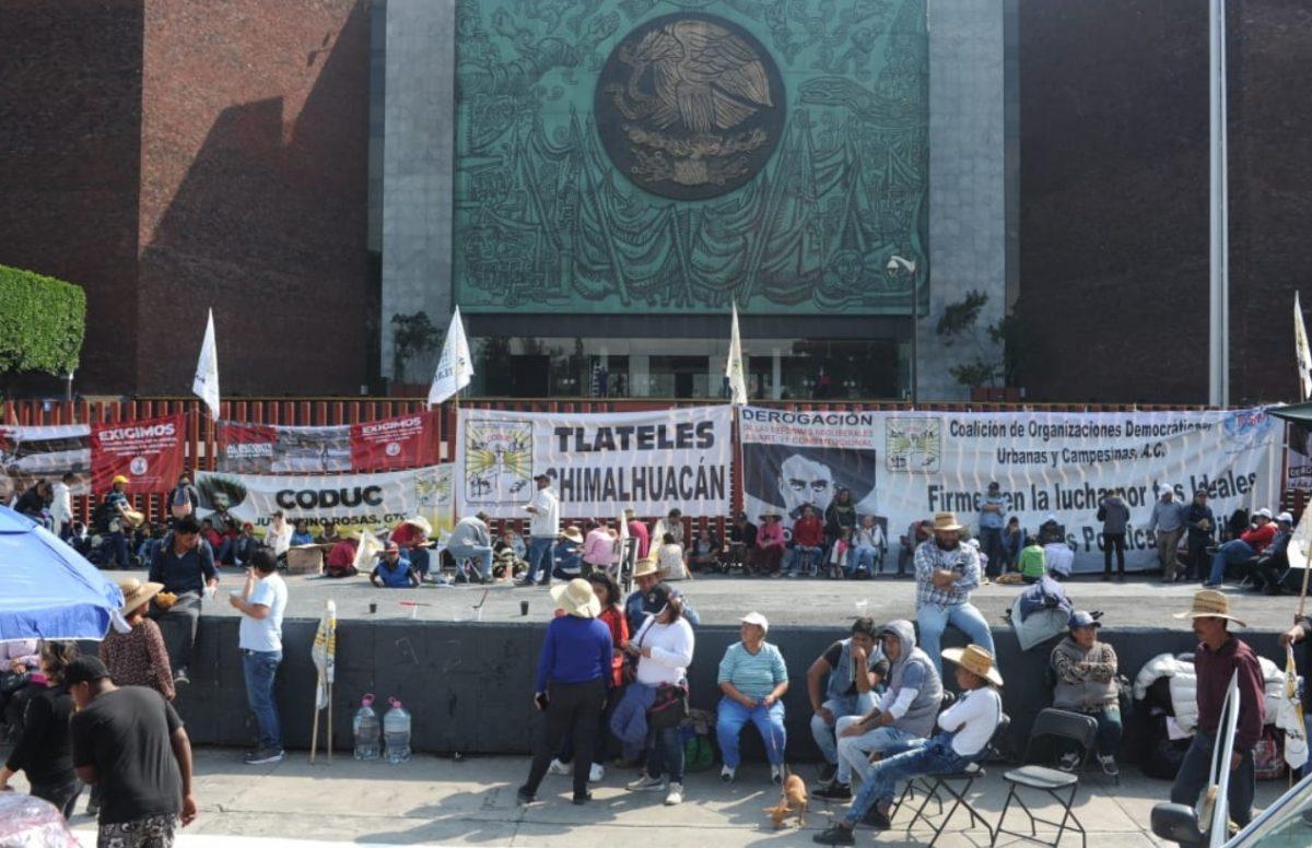 Imagen: Bloqueo en la entrada de San Lázaro, 13 de noviembre (Imagen: Especial)