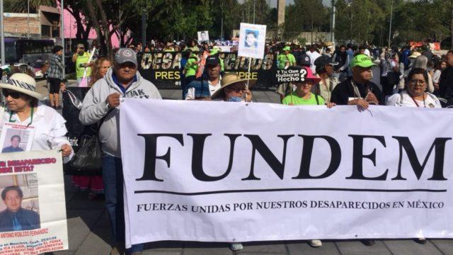 Imagen: Movilización de familiares de desaparecidos en México, 8 de noviembre de 2019 (Imagen: Especial)