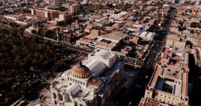 Imagen: Vista aérea de la capital de la Ciudad de México, 27 de noviembre (Imagen: Especial)