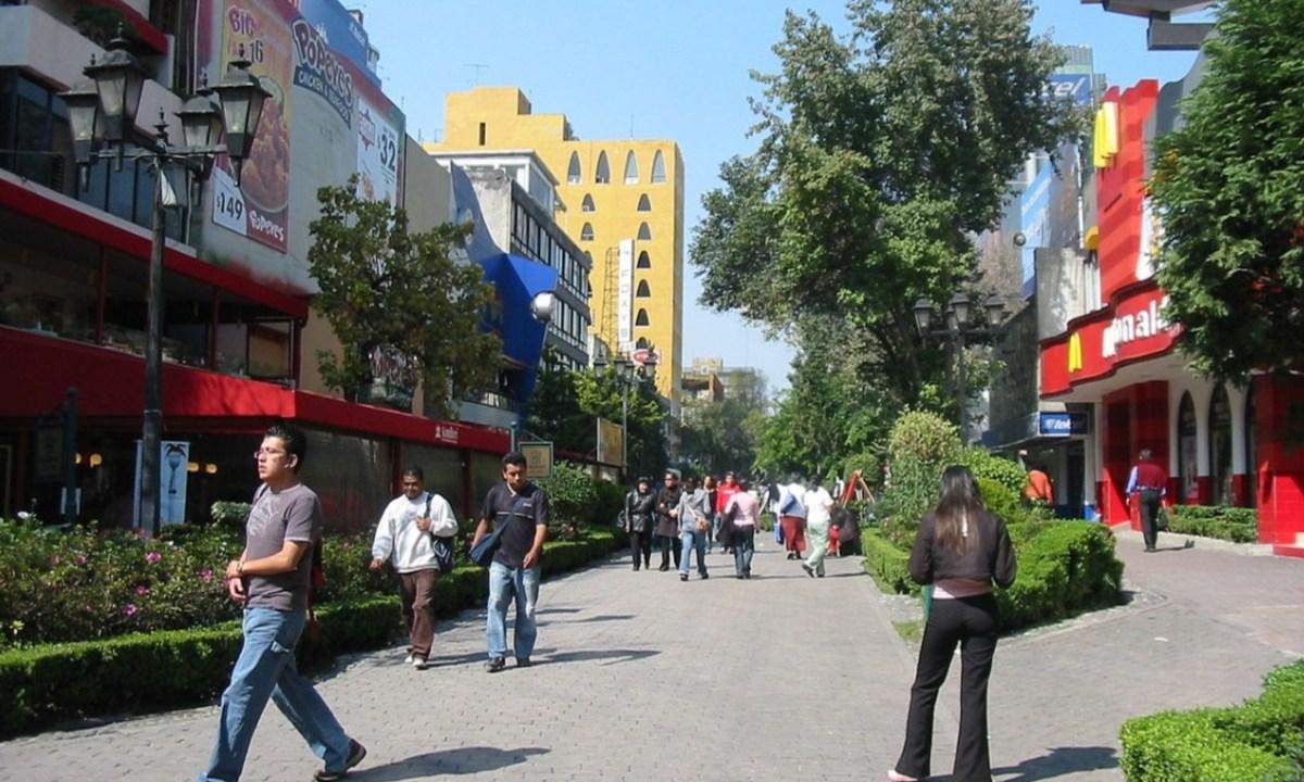 Imagen: Locales comerciales en la Colonia Juárez, CDMX, 11 de noviembre de 2019 (Imagen: Especial)