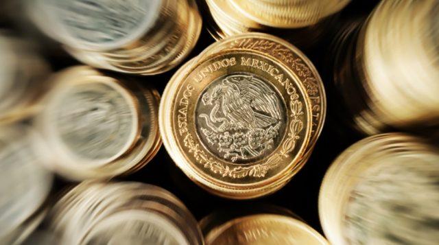 Monedas de 10 pesos mexicanos (Imagen: Especial)