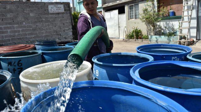 Imagen: Escasez del agua en México, falta de agua