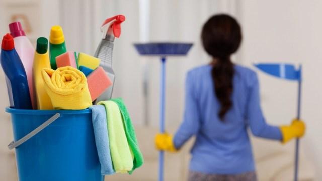 Imagen: Una trabajadora del hogar, 13 de noviembre de 2019 (Imagen: Especial)