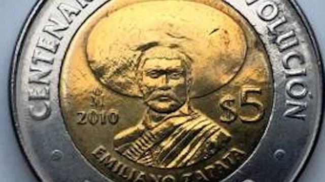 Monedas de colección, moneda, Emiliano, Zapata