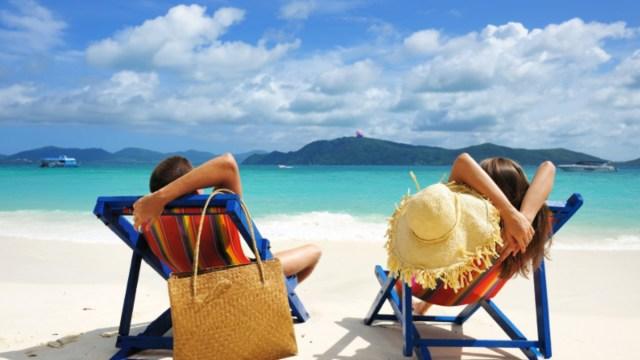 26 de diciembre 2019,Retirarse joven, playa, personas, pareja, jóvenes, vacaciones, retiro