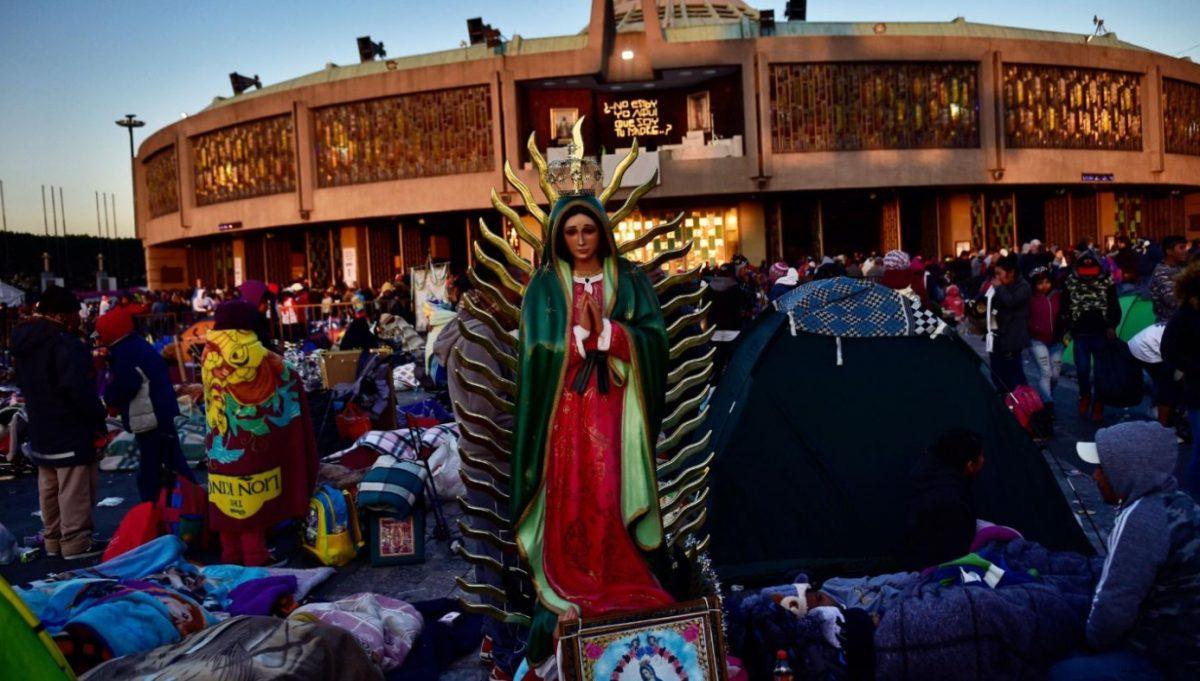 12 de diciembre de 2019, Virgen de Guadalupe, Basílica de Guadalupe, peregrinos, peregrinos acuden a la Basílica de Guadalupe (Imagen: Especial)