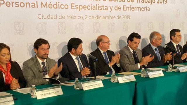 3 de diciembre de 2019, Imss, cacante, empleo, enfermas, médicos, IMSS abre convocatoria para médicos y enfermeras (Imagen: sntss.org)
