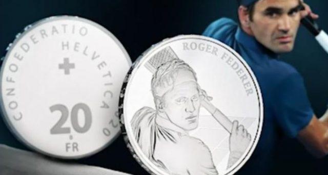 2 de diciembre de 2019, Roger Federer, monedas, Suiza, la cara de Roger Federer se emitirá en monedas el próximo 23 de enero en Suiza (Imagen: Especial)
