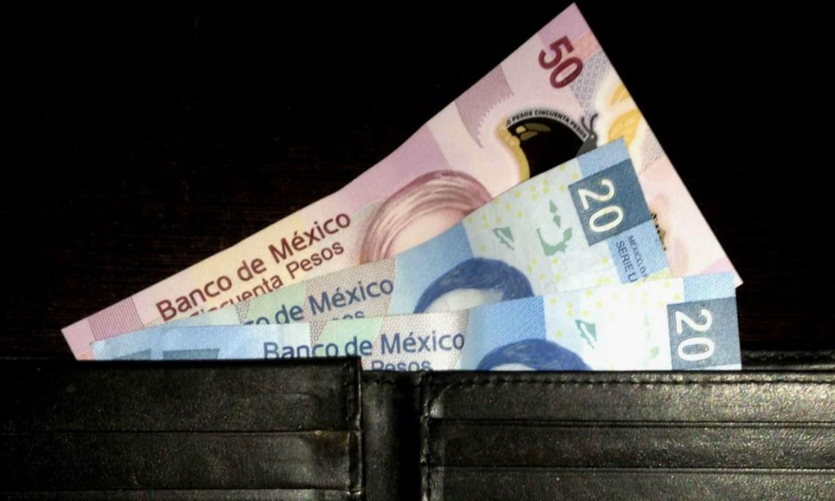 08 de enero 2020, Aumento al salario mínimo, Dinero, Cartera, Billetes, Efectivo
