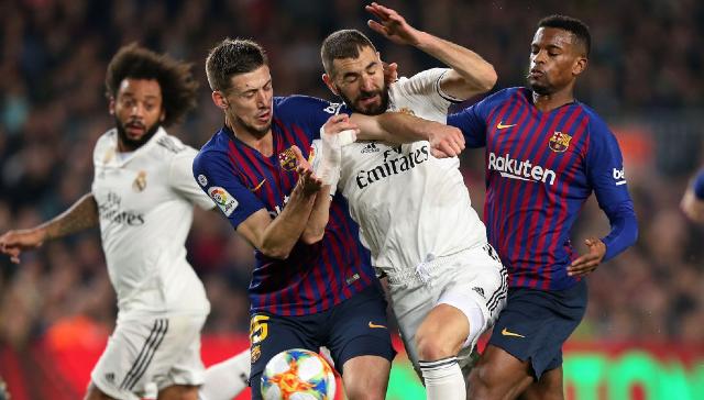 14 de enero 2020, Barcelona, Jugadores, Futbolistas, Real Madrid, Barcelona, Futbol