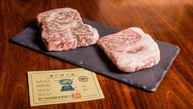 30 de enero 2020, Carne Kobe original, Carne, Kobe, Cortes de Carne