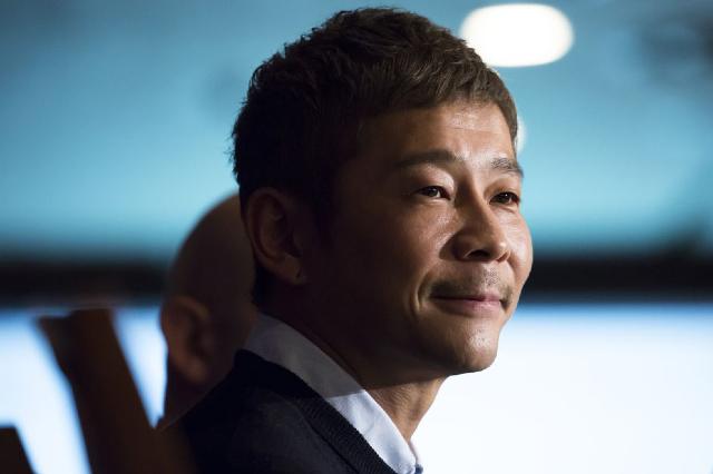 10 enero 2020, Empresario japonés, Yusaku Maezawa, Millonario, Magnates