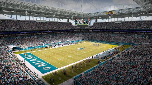 09 de enero 2020, Estadio de Miami, Estadio, Estadio de Miami, Aficionados, Futbol Americano, NFL, Super Bowl 2020