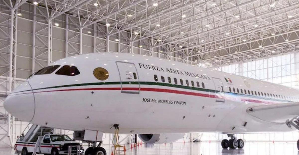 14 de enero 2020, hangar, presidencial, avión