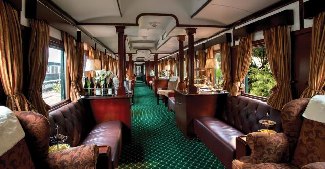 17 de enero 2020, Rovos Rail, Tren, Sala, Viaje en Tren