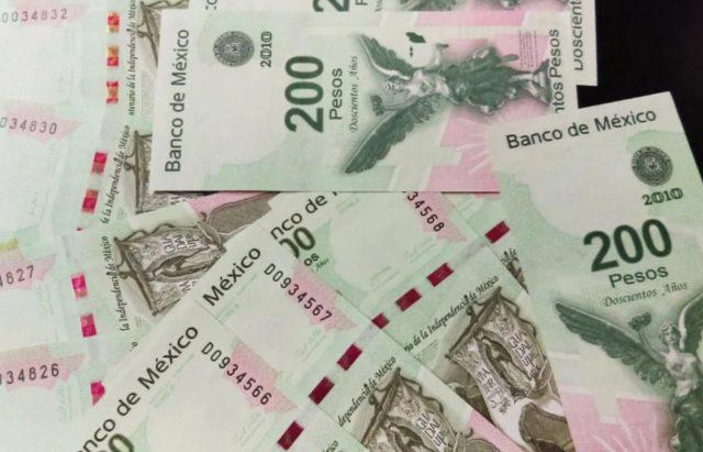 6 de enero de 2020, dinero, inflación, billetes mexicanos de 200 pesos (Imagen: Especial)