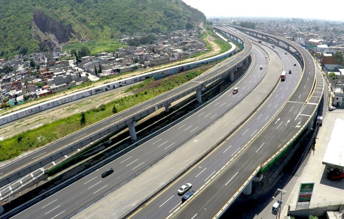 5 de febrero de 2020, carreteras, capufe, carreteras en México (Imagen: Twitter @SCT_mx)