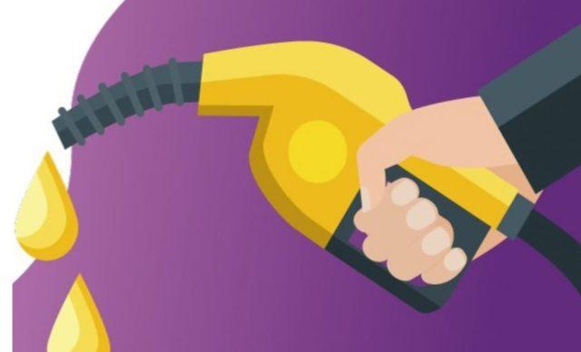 11 de febrero de 2020, ilustración del momento en que despachan gasolina (Imagen: Twitter @CRE_Mexico)