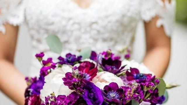 20 de febrero de 2020, una mujer usa un vestido de novia (Imagen: Instagram @disneyweddings)