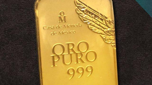 19 de febrero de 2020, onza de oro (Imagen: Twitter @CasadeMonedaMx)