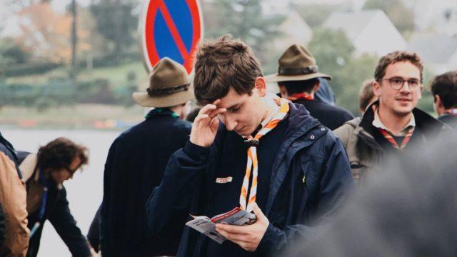 19 de febrero de 2020, un joven de los boys scouts (Imagen: Unsplash)