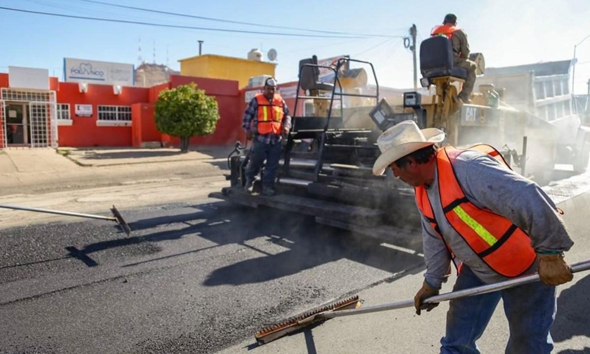 28 de febrero de 2020, trabajo en Chihuahua (Imagen: Twitter: @MaruCampos_G)