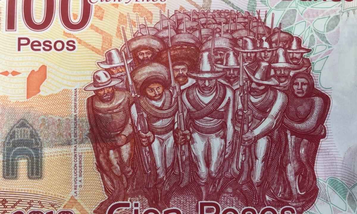 4 de marzo de 2020, billete de 100 pesos mexicano (Imagen: Twitter @Sonumex )