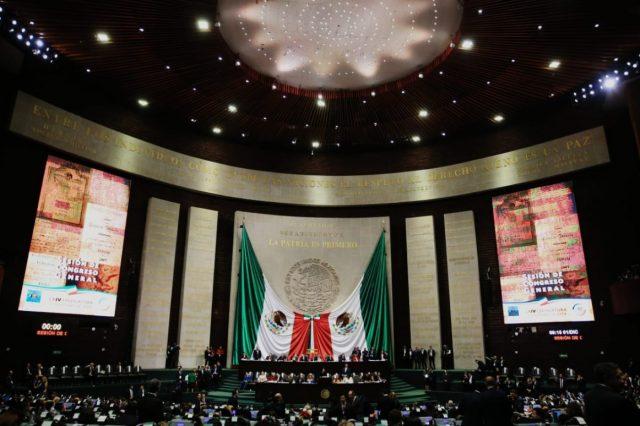 11 de marzo de 2020, sesión en la Cámara de Diputados (Imagen: Twitter @JuarezCisneros)