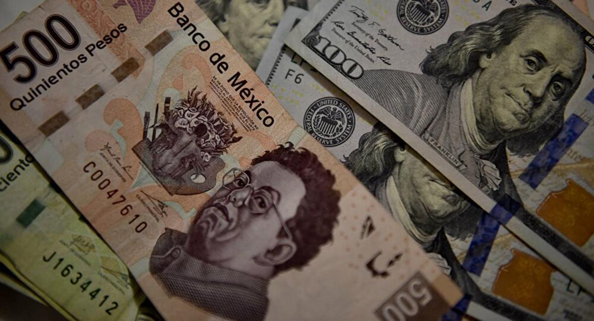 Peso caída, Dinero, Dólar, Mercado, Banco de México
