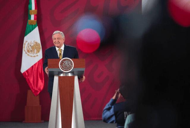 AMLO durante una conferencia de prensa (Imagen: lopezobrador.org.mx)