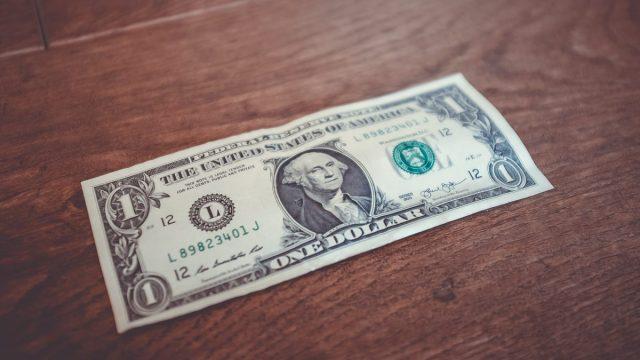 Billete de 1 dólar estadounidense (Imagen: Unsplash)