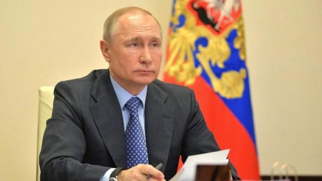 El presidente de Rusia, Vladimir Putin (Imagen: Twitter @KremlinRussia_E)