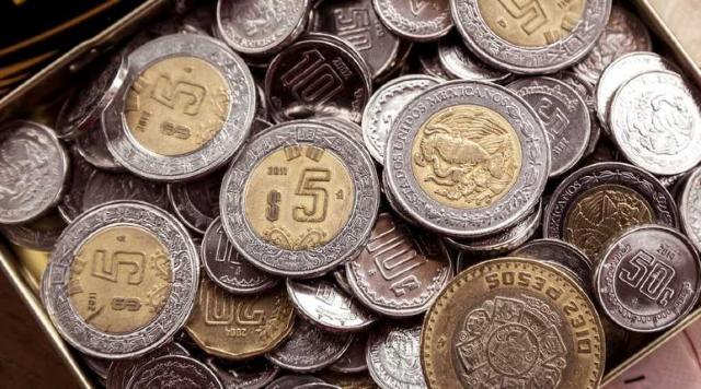 Monedas Mexicanas, Monedas, Dinero, Efectivo, Cambio
