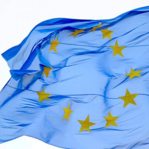 Bandera de la Unión Europea (Imagen: Unsplash)