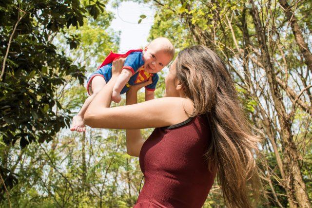 Felicidad de un bebé (Imagen: Unsplash)