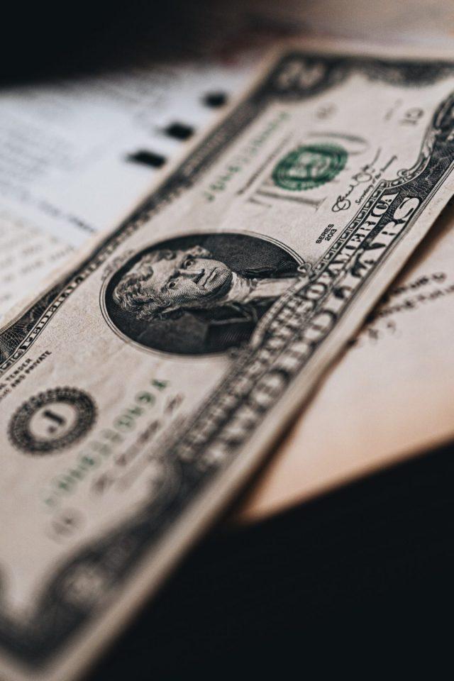 Billete de dólar estadounidense (Imagen: Unsplash)