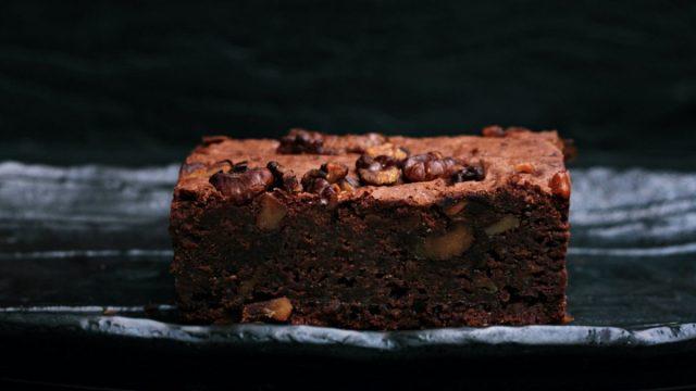 Brownies con vino tinto (Imagen: Unsplash)