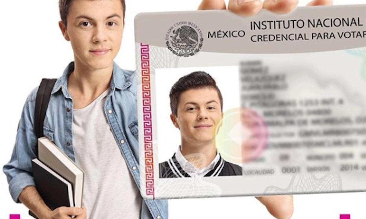 Credecnial para votar del INE (Imagen: Instagram @inemexico)