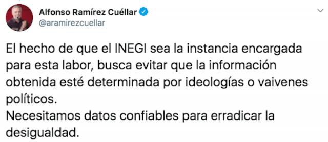 Explicación de Alfonso Ramírez Cuéllar, presidente de Morena (Imagen: Twitter @aramirezcuellar)