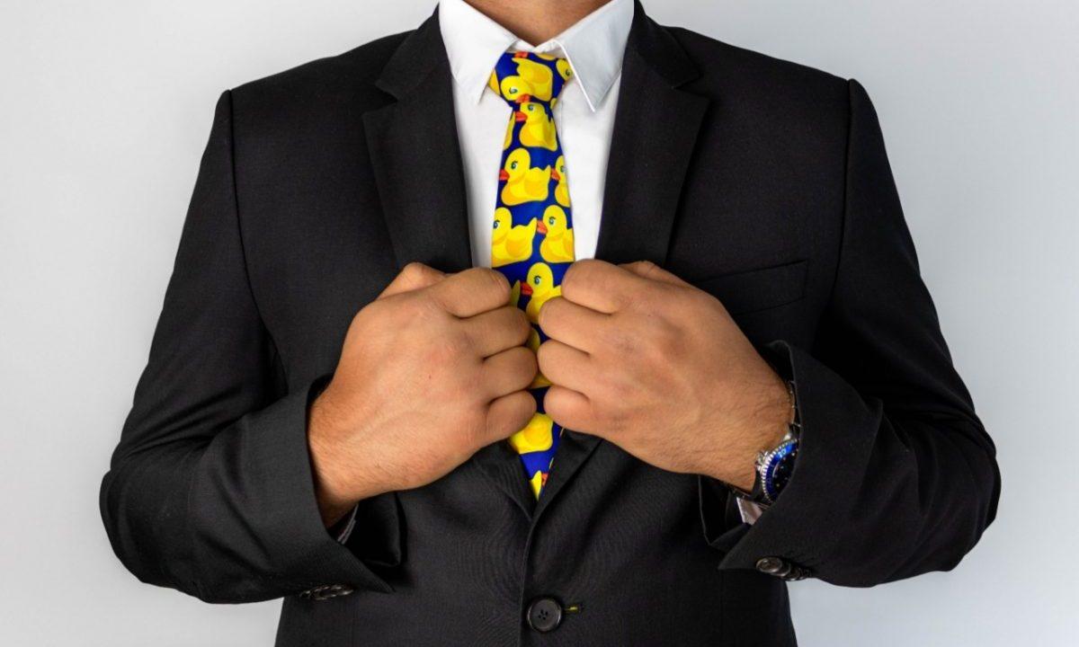 Uso de corbatas (Imagen: Unsplash)