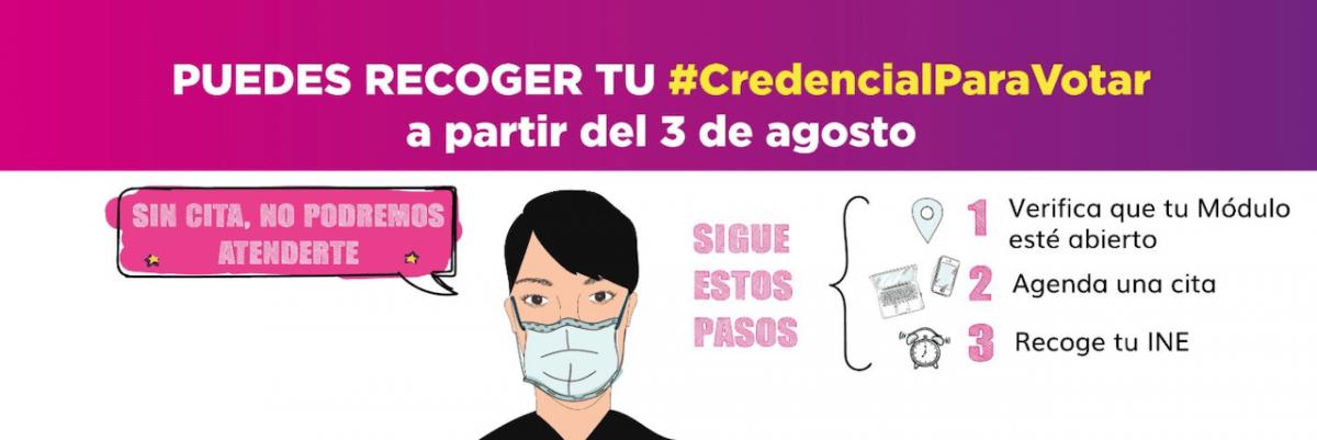 Identificación, INE, Credencial de Elector, Citas