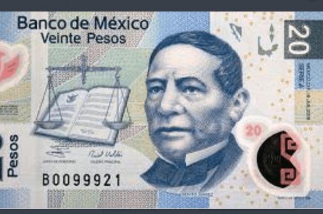 Benito Juárez en billete de 20 pesos (Imagen: Twitter @gymbooroso)