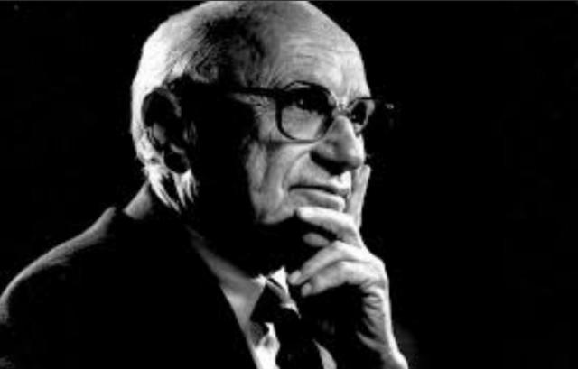 Entrevista a Milton Friedman (Imagen: Twitter @daniel_dsj2110)