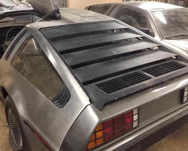 Carro de volver al futuro (Imagen: autoevolution)