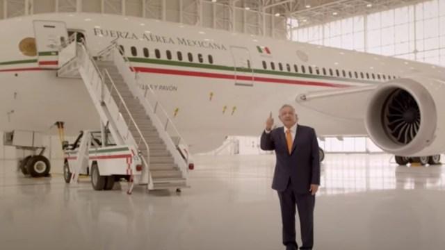 Exigen a Profeco sancionar spot de avión presidencial por publicidad engañosa (Imagen: Youtube Andrés Manuel López Obrador)