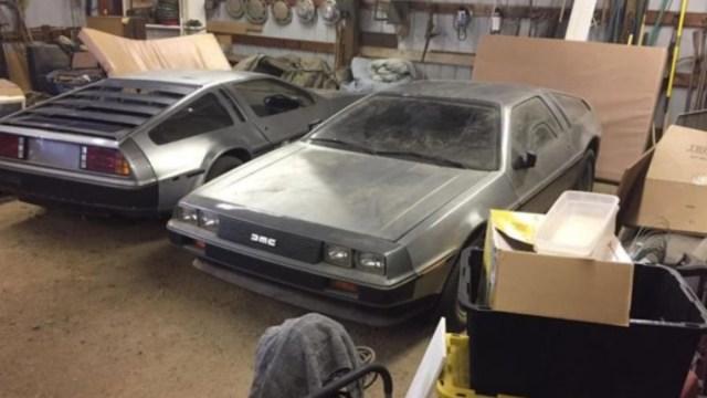 Encuentran dos DeLorean abandonados (Imagen: autoevolution)