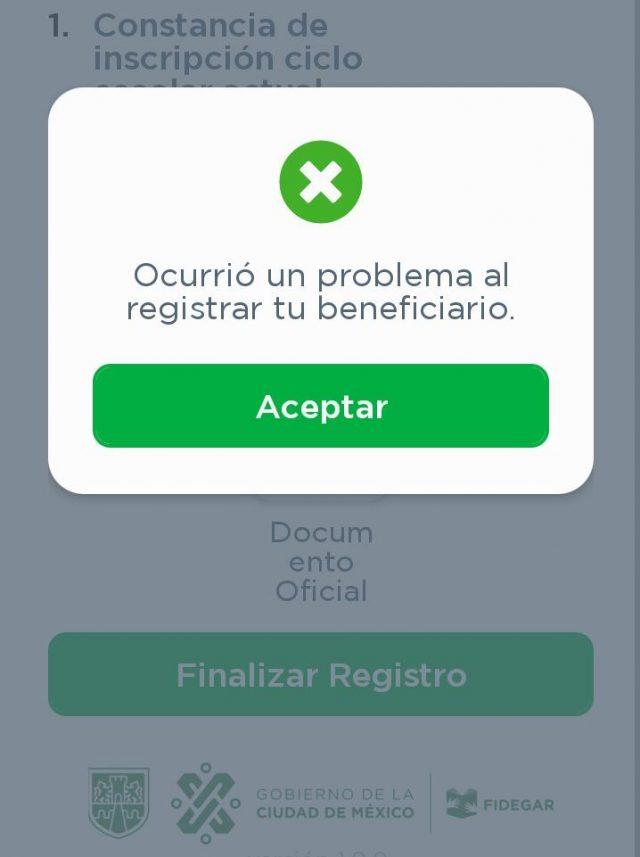 ¿Tienes problemas para registrarte en Mi Beca para Empezar desde la aplicación? Nosotros te ayudamos
