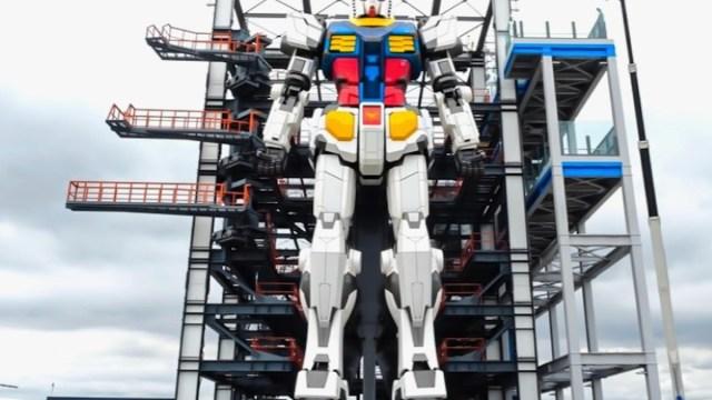 Robot gigante en Japón (Imagen: GUNDAM FACTORY YOKOHAMA)